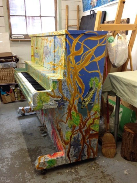 "Rose Williams, ""Painted Piano"""