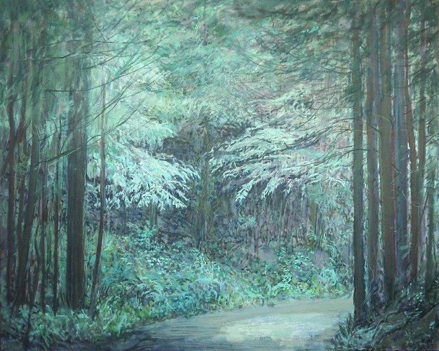 """Anne Meggitt, """"Forest Sentinels"""" 2014"""