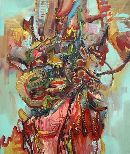 """Wei Li, """"Inside Out,"""" 2016"""