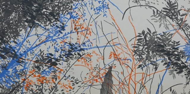 "Zhang Guang Hui, ""April, 9am (detail),"" 2015"