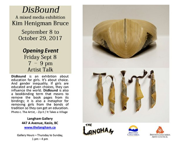 Disbound at Langham Cultural Centre