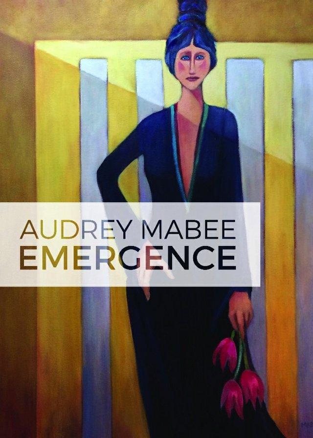 """Audrey Mabee, """"Emergence,"""" invitation"""