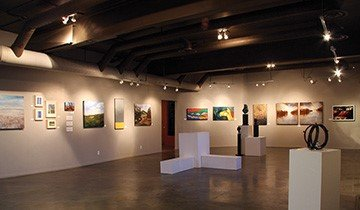 Main Gallery at Artpoint Gallery & Studios Society