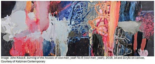"John Kissick, ""burning of the houses of cool man, yeah No. 6 (cool man, yeah),"" 2016"