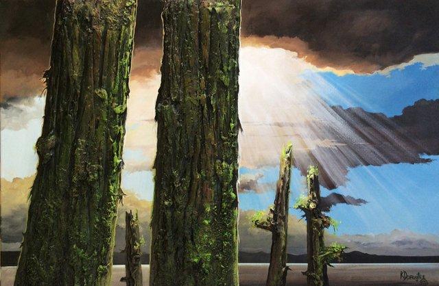 """Karel Doruyter, """"Pillars of Heaven, nd"""