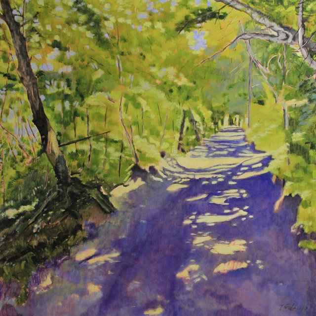 "Tom Gale, ""Emily Murphy Park Trail,"" 2017"