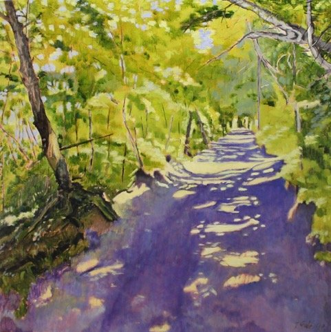 """Tom Gale, """"Emily Murphy Park Trail,"""" 2017"""