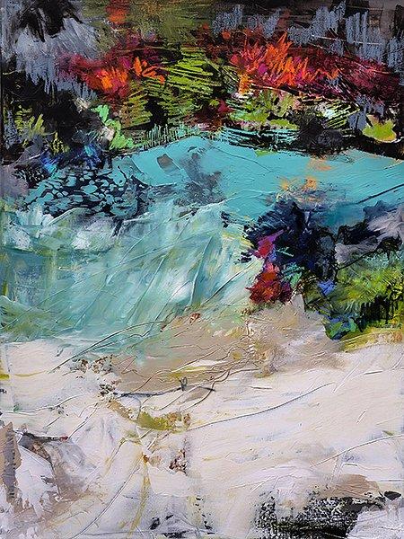 "Ann Vandervelde, ""What lies beneath,"" 2017"