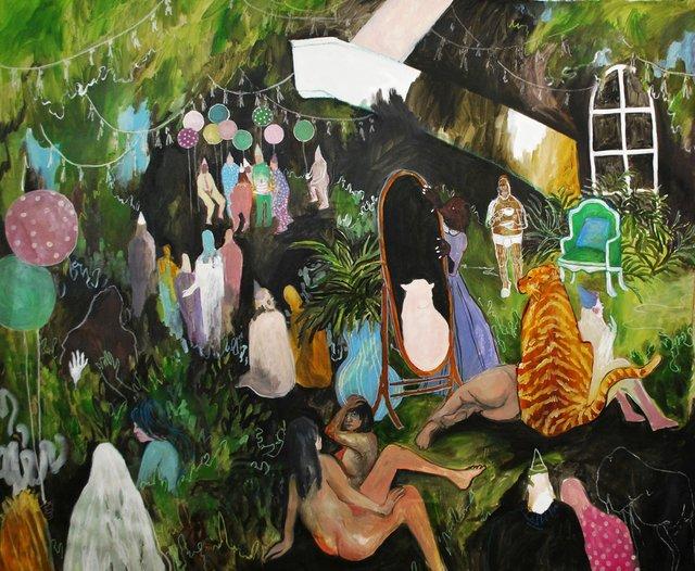 """Michelle Nguyen, """"Jelly Jamboree,"""" 2017"""