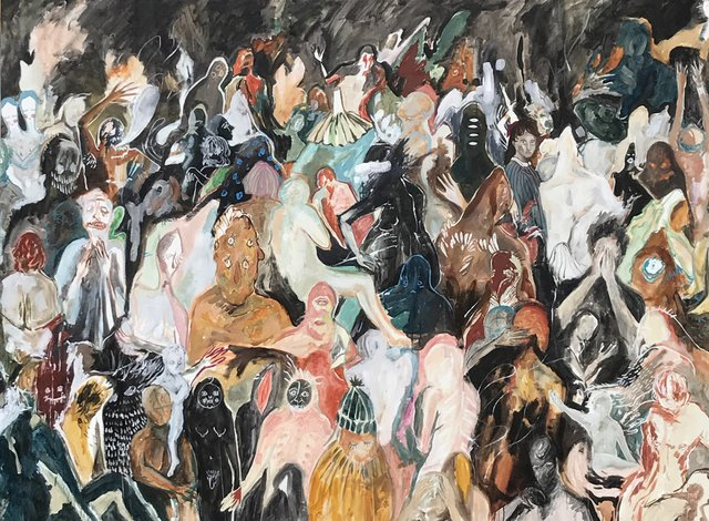 "Michelle Nguyen, ""Apparitions in a Crowd,"" 2012"