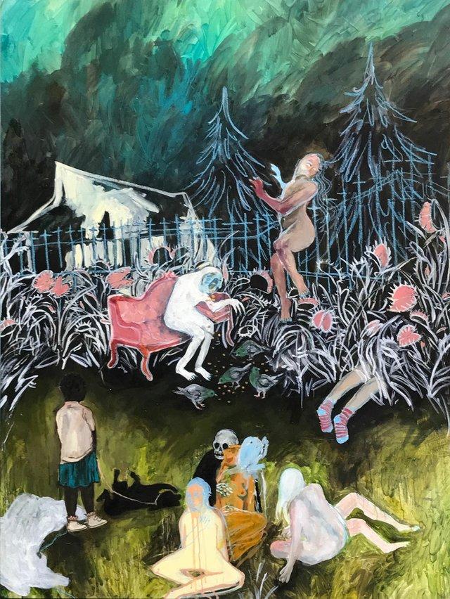 """Michelle Nguyen, """"Carnivory,"""" 2017"""