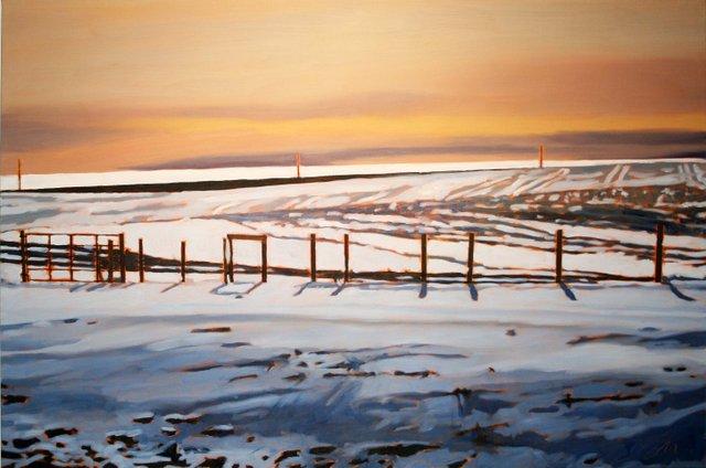 "Shelley McMillan, ""Winter in Saskatchewan IV,"" 2017"