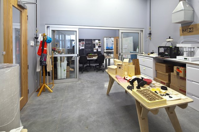 The 3-D print studio at Emily Carr University of Art and Design in Vancouver. Photo courtesy of ECUAD.