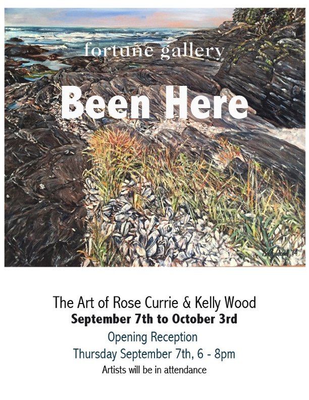 """Rose Currie & Kelly Wood, """"Been Here Invitation,"""" 2017"""