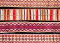 """Artists Unknown, """"Dene porcupine quillwork belts,"""" early 20th century"""