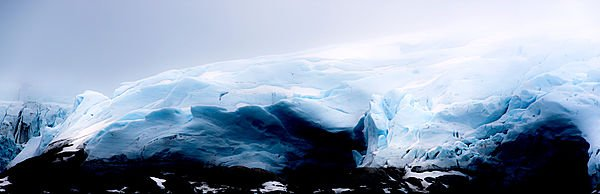 """Risa Horowitz, """"Smeerenburgreen Glacier, not far from Børnfjorden There were so many glaciers. 79°37,0' N, 011°29,3'E,"""" 2017"""