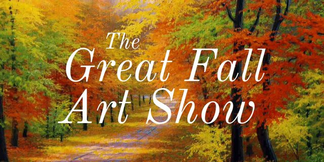 The Great Fall Art Show Invitation 2017