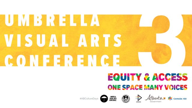 Umbrella Visual Arts Conference 3, Invitation 2017