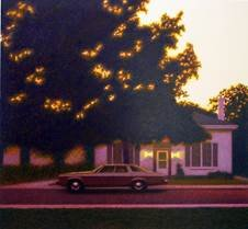 "John Ward, ""Dusk (detail),"" 1984"