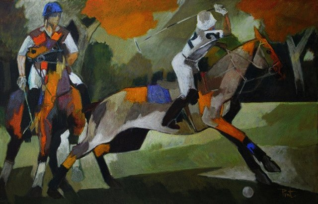 "Pierre Pivet. ""Polo,"" nd"