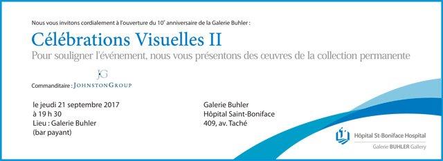 10e anniversaire de la Galerie Buhler