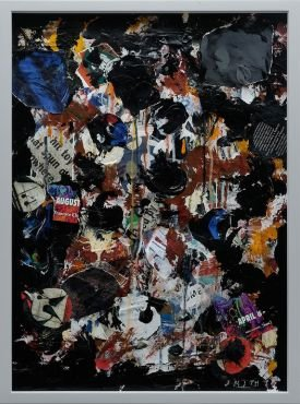 "Gordon Smith, ""Collage Paintings,"" 2017"