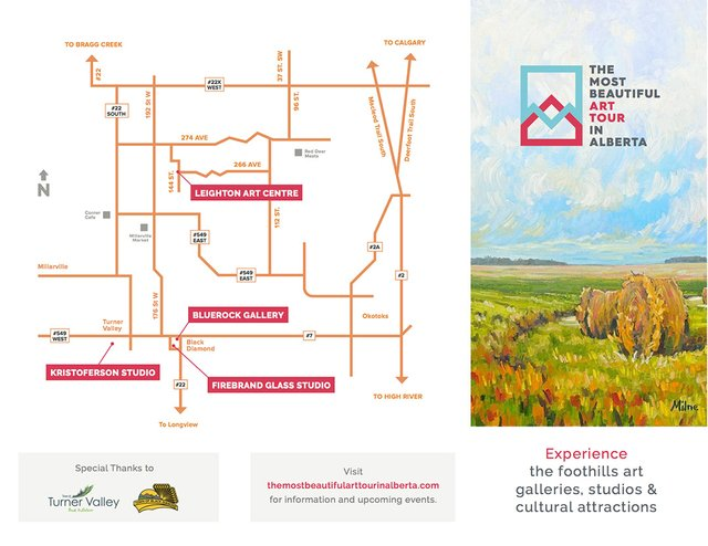 The Most Beautiful Art Tour in Alberta Brochure