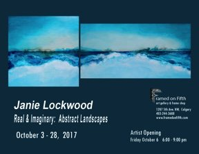 "Janie Lockwood, "" Real and Imaginary Abstract Landscapes,"" 2017"