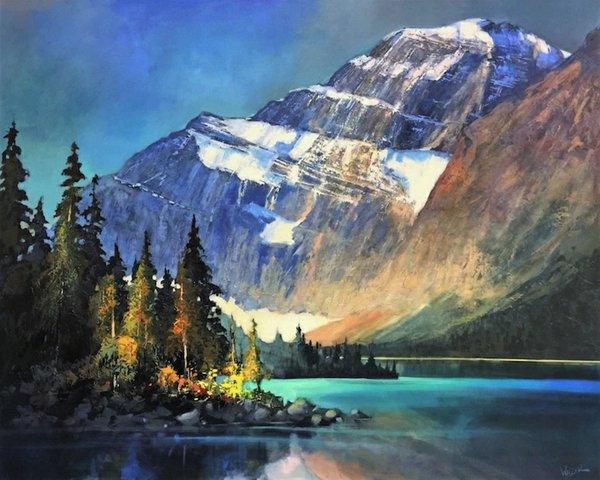 "Linda Wilder, ""Edith Cavell - Lake of Forgiveness,"" 2017"