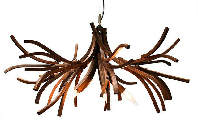 "Lars Dressler and Jason Dressler, Brothers Dressler, ""Branches Chandelier,"" 2009,"
