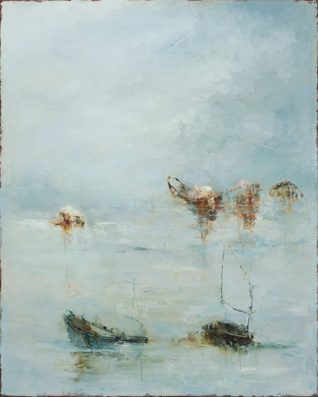 """France Jodoin, """"I shall wear the bottom of my trousers rolled,"""" 2017"""