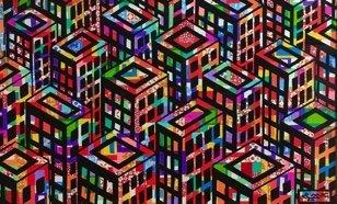 "Ronald Markham, ""Cityscape,"" nd"