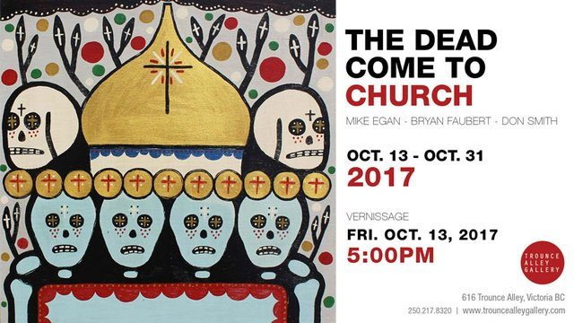 The Dead Come to Church, Invitation