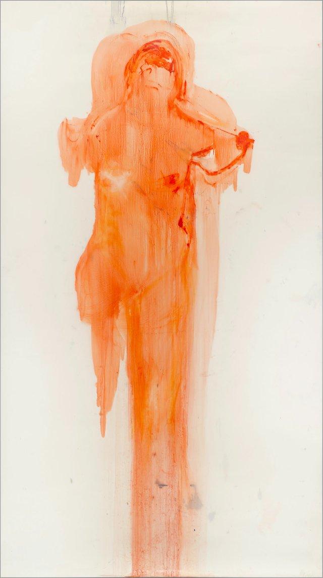 "Angela Grossmann, ""Tangerine,"" 2017"