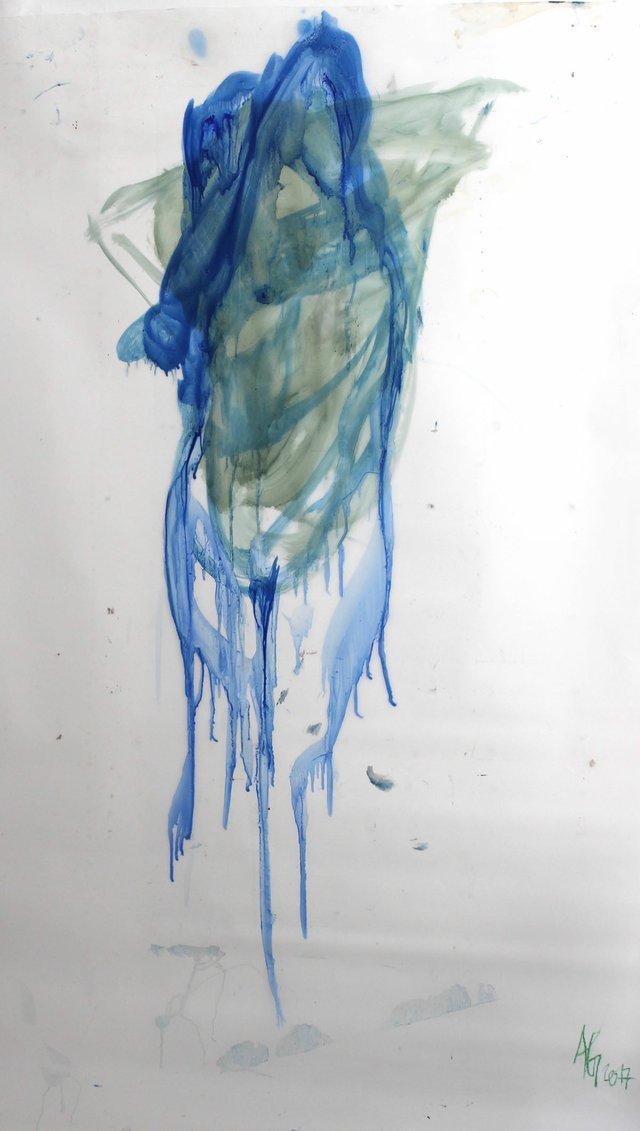 "Angela Grossmann, ""Ultra Marine,"" 2017"