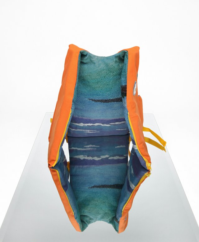 "Bettina Matzkuhn, ""Life Jacket #1: Peace,"" no date"
