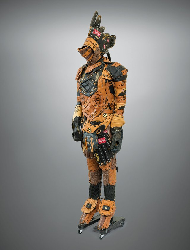 """Brian Jungen, """"The Prince,"""" 2006"""