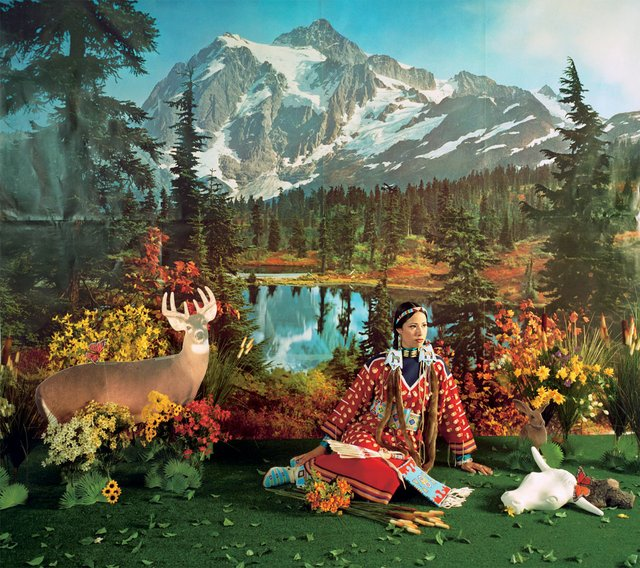 "Wendy Red Star, ""Indian Summer,"" from the series ""Four Seasons,"" 2006"