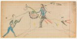 "Unknown Cheyenne artist, ""Vincent Price Ledger Book, p. 202,"" about 1875-1878"