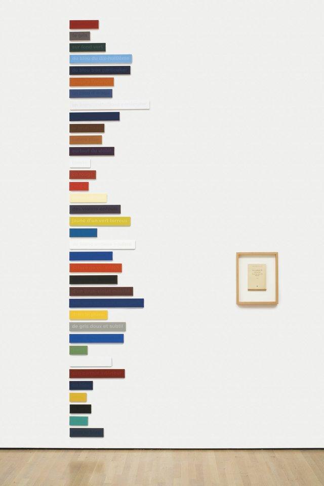 """Francine Savard, """"Les Couleurs de Cézanne dans les mots de Rilke 36/100 – Essai,"""" 1998"""