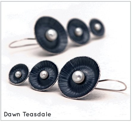 "Dawn Teasdale, ""Earrings,"" 2017"