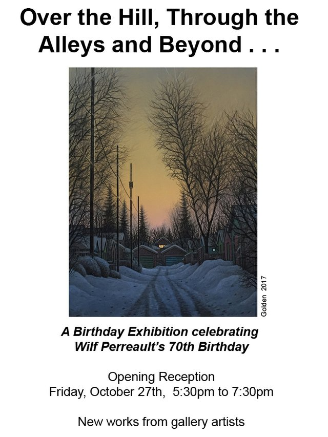 Wilf Perreault Invitation 2017