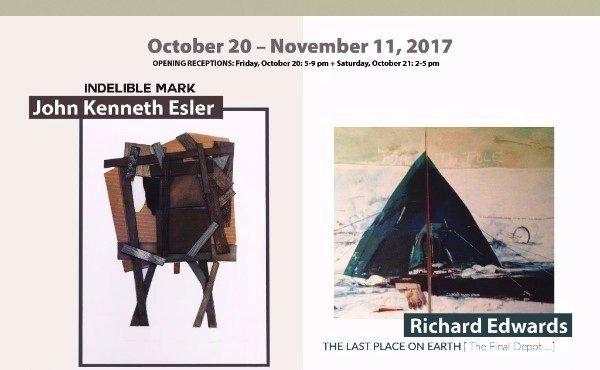 John Kenneth Esler and Richard Edwards Invitation