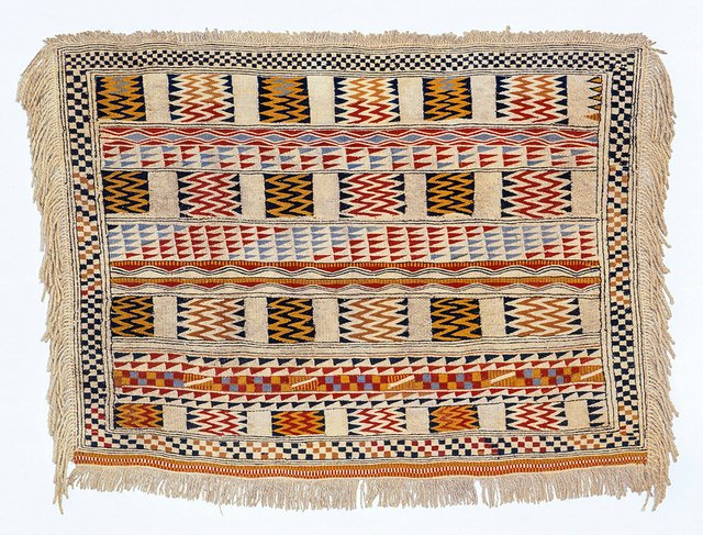 "Artist unknown, ""Salishweaving Finlandblanket,"" prior to 1828"
