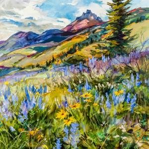 "Brent R. Laycock, ""Mountain Meadow Garden,"" 2017"
