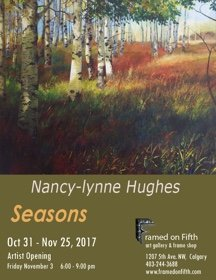 "Nancy-lynne Hughes, ""Seasons, Invitation,"" 2017"
