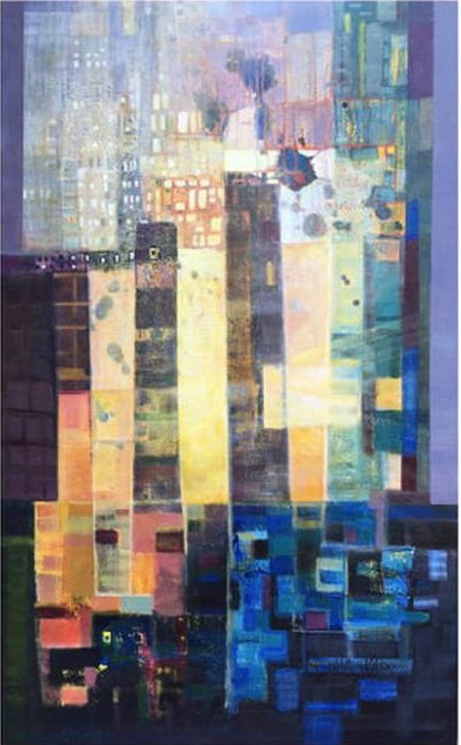 "Linda Darby, ""City Light,"" nd"
