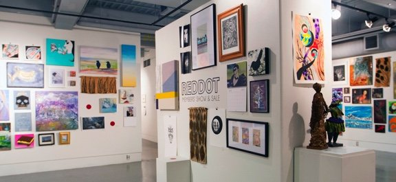 4th Annual Red Dot Members Show and Sale, 2017