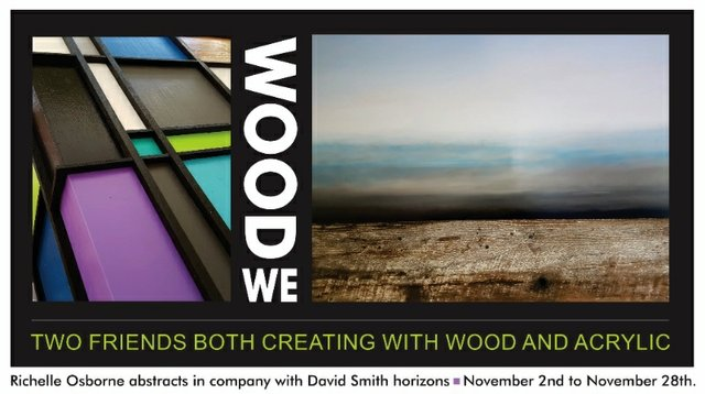 "Richelle Osbourne & David Smith, ""Wood We,"" 2017"