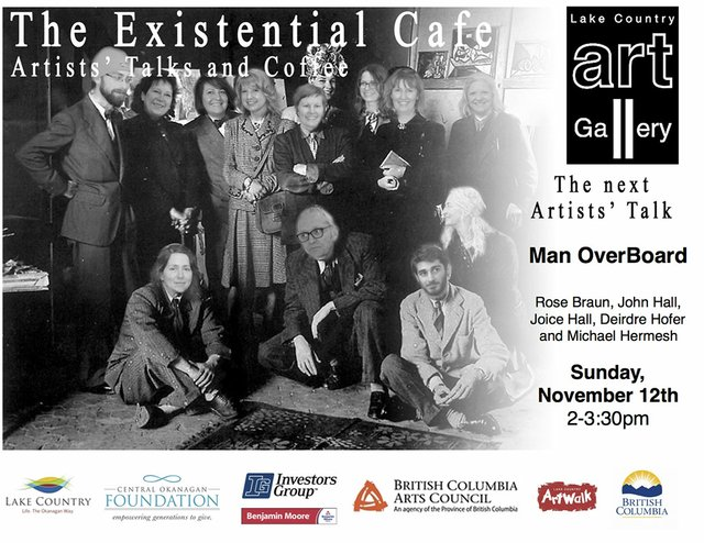 Man Over Board: Existential Cafe Invitation